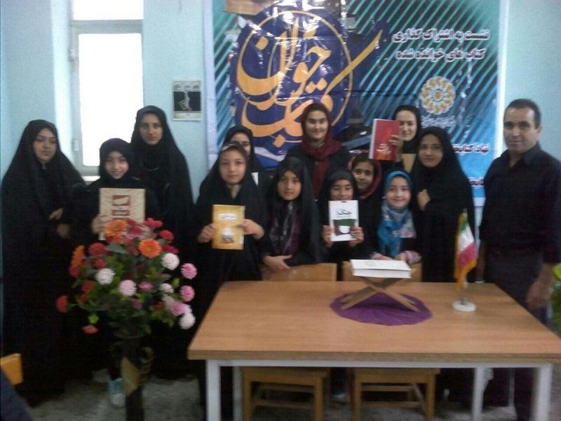 مراسم تقدیر از هفتمین جشنواره کتابخوانی رضوی در کتابخانه های طاهر گوراب و لیفشاگرد برگزار شد