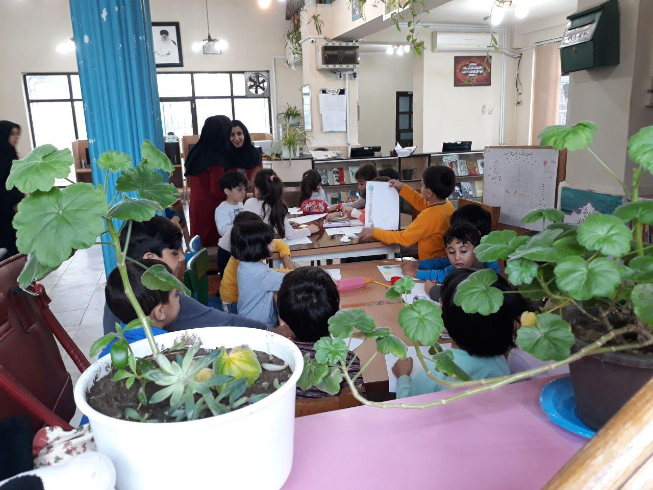 گرامیداشت روز جهانی کودک در کتابخانه عمومی ۱۷شهریور تالش